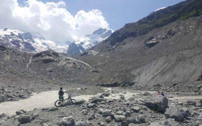 Fahrradweg 4 Stunden Morteratsch Glacier