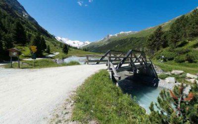 Fahrradweg 2-4 Stunden Pontresina und Val Roseg